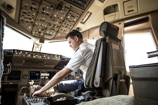 Emirates-pilot (Foto: Emirates Airline)