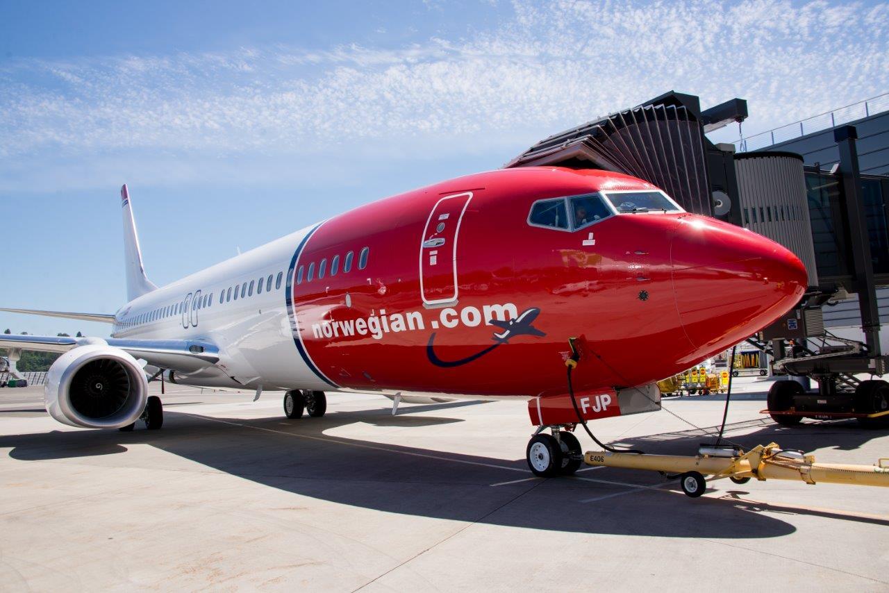 Norwegian Boeing 737-800 (Foto: Norwegian)