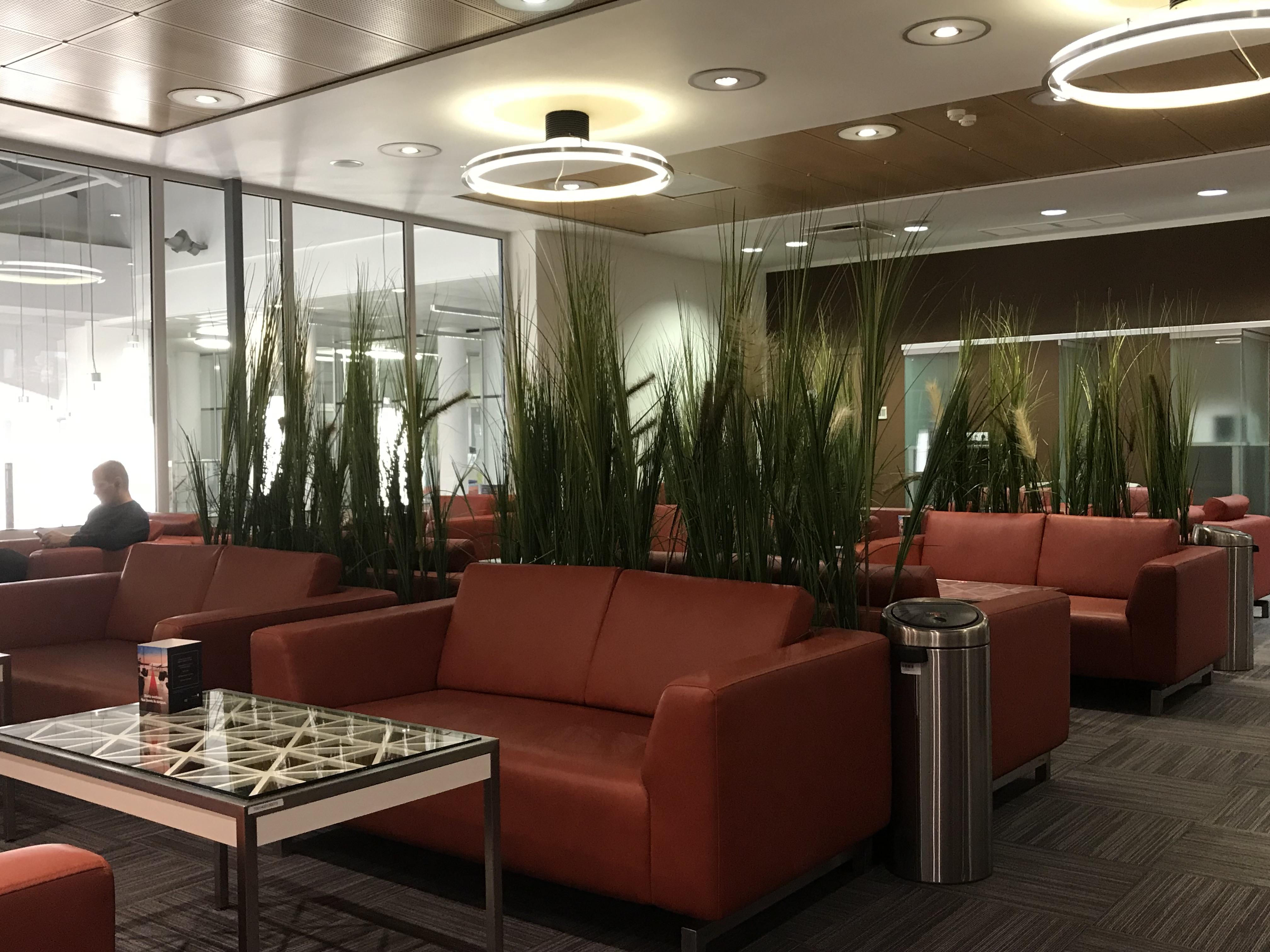 Business Lounge i Vilnius Airport. (Foto: Ole Kirchert Christensen)