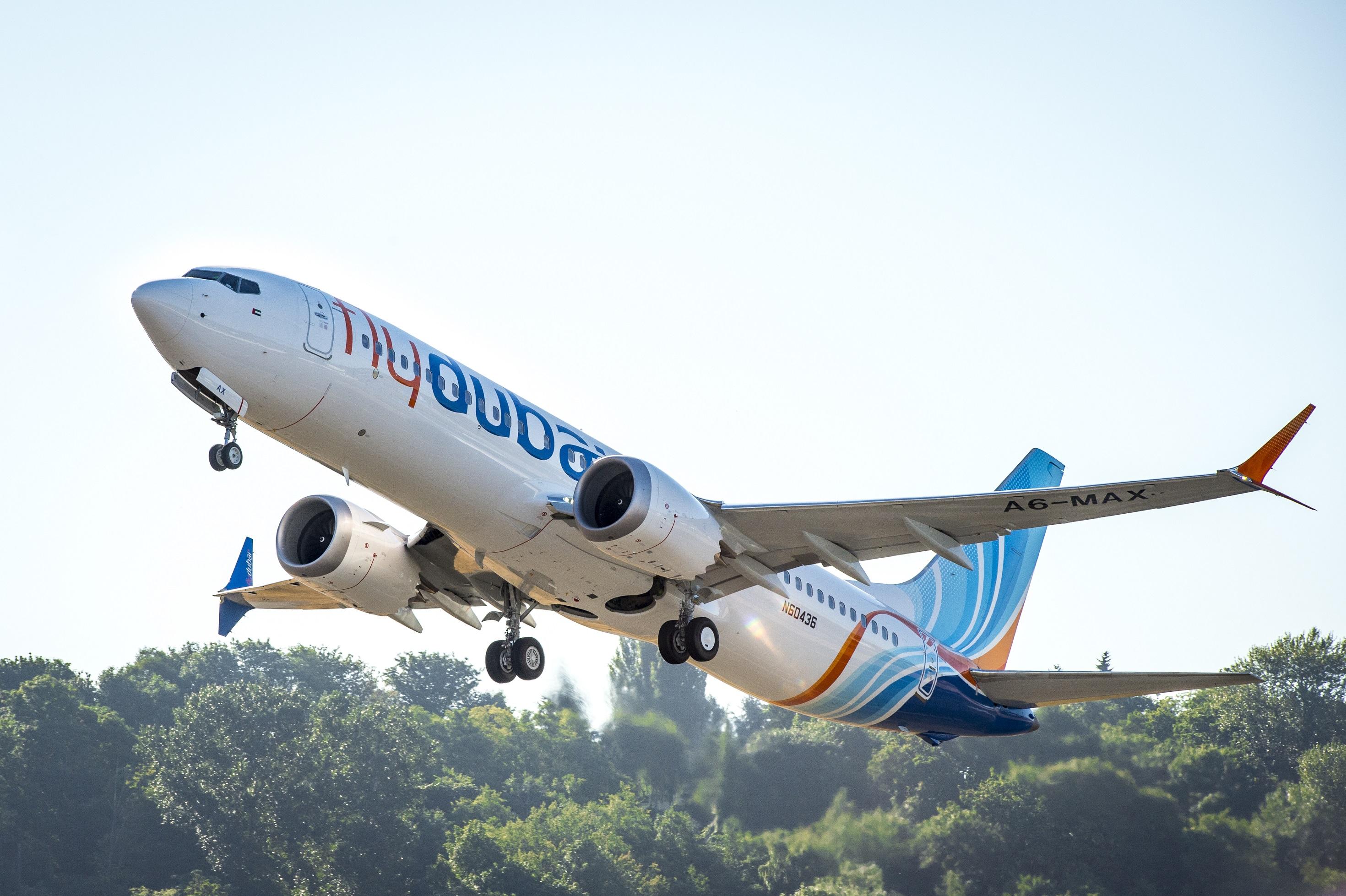 Flydubai Boeing 737 MAX 8 (Foto: Boeing)