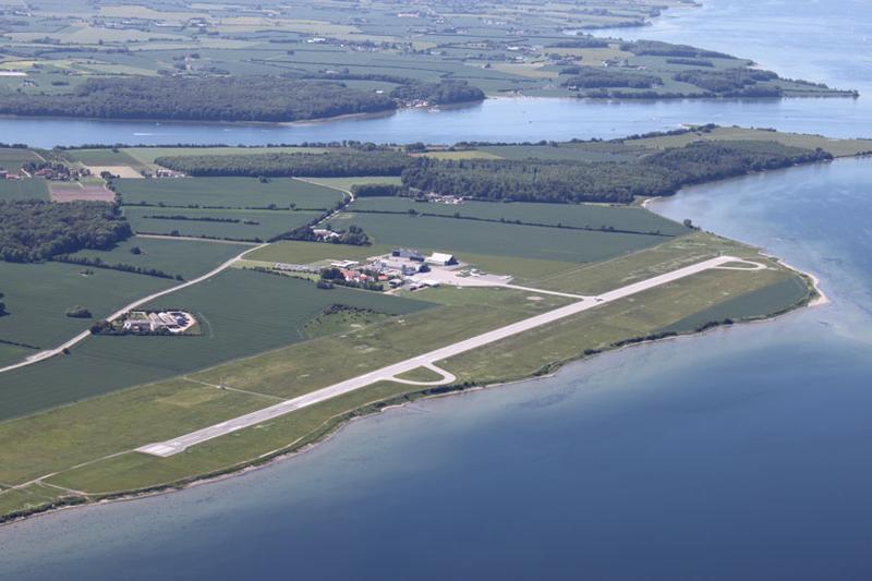 Sønderborg Lufthavn (Foto: European Satellite Services Provider)