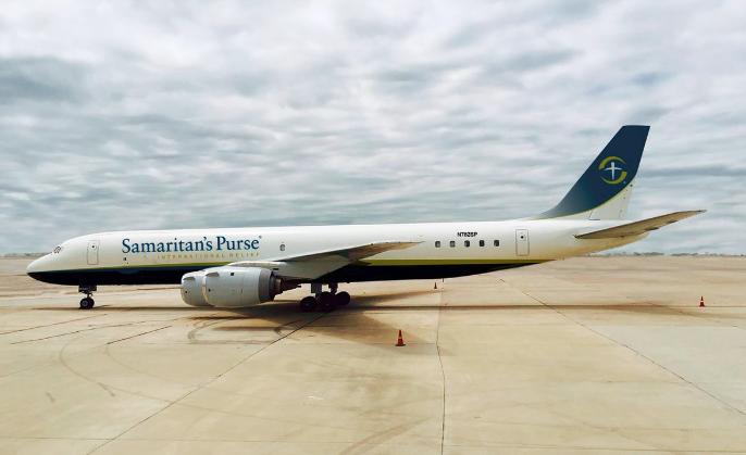 Samatarian´s Purse DC-8-72 (Foto: Frank Graham – Samatarian´s Purse)