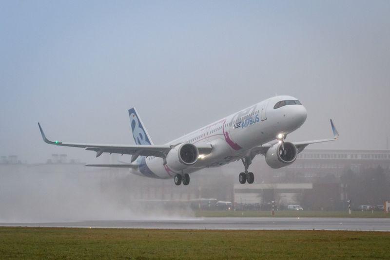 Airbus A321-200LR (Foto: Michael Lindner | Lindner Fogografie)