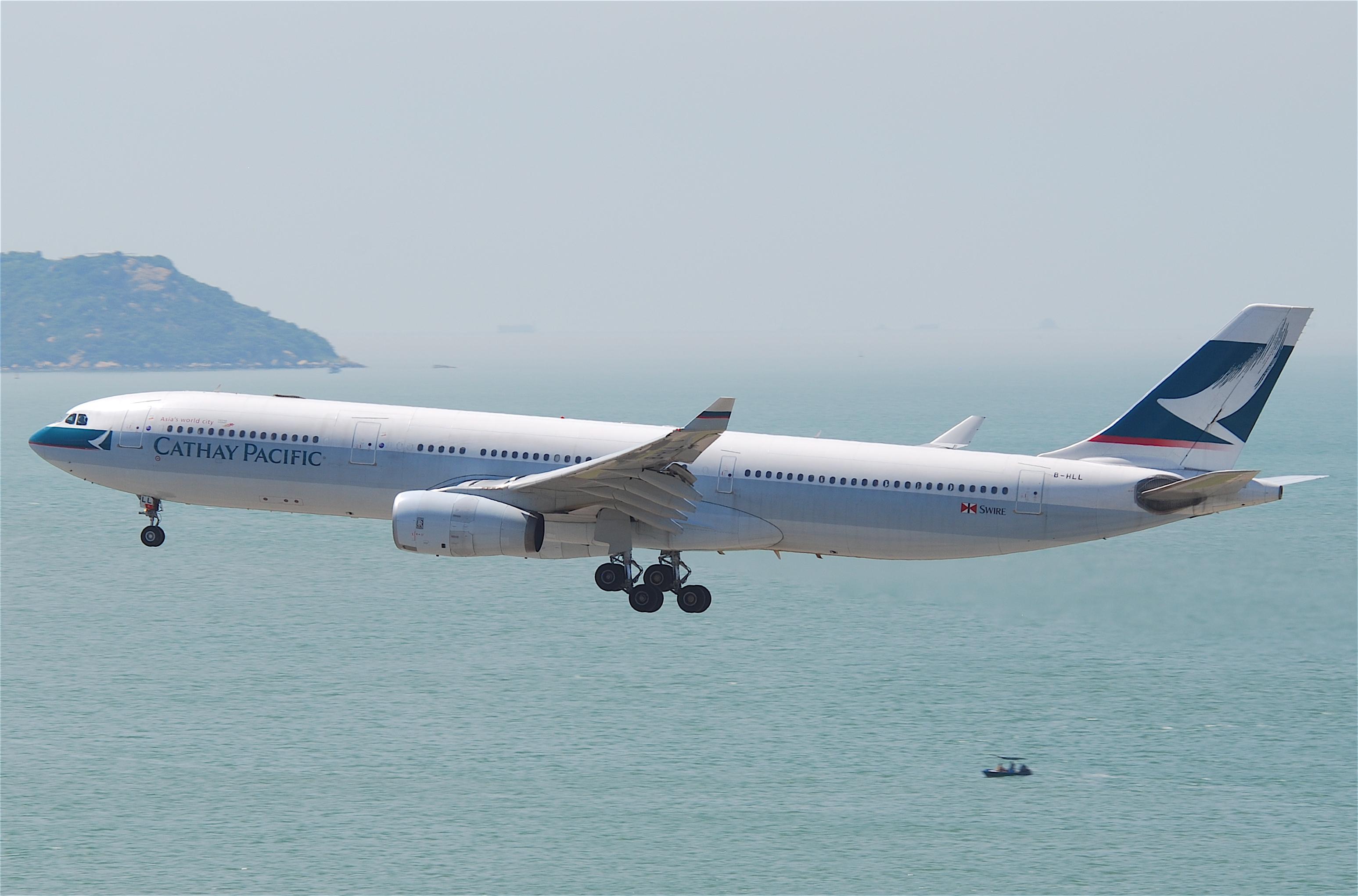 En Airbus A330 fra Cathay Pacific. Foto: Aero Icarus