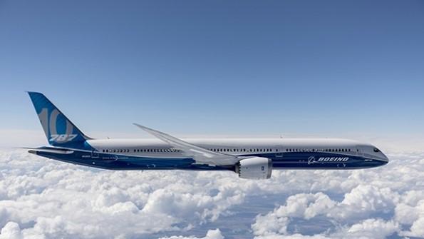 Den største Dreamliner, Boeing 787-10. Foto: Boeing.