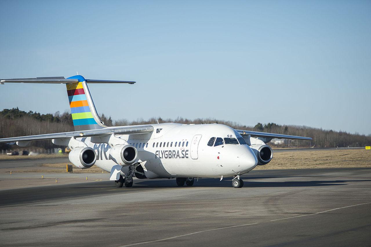 BAe 146 Avro RJ 100 fra BRA. (Foto: AlexanderPilot | Creative Commons 4.0)
