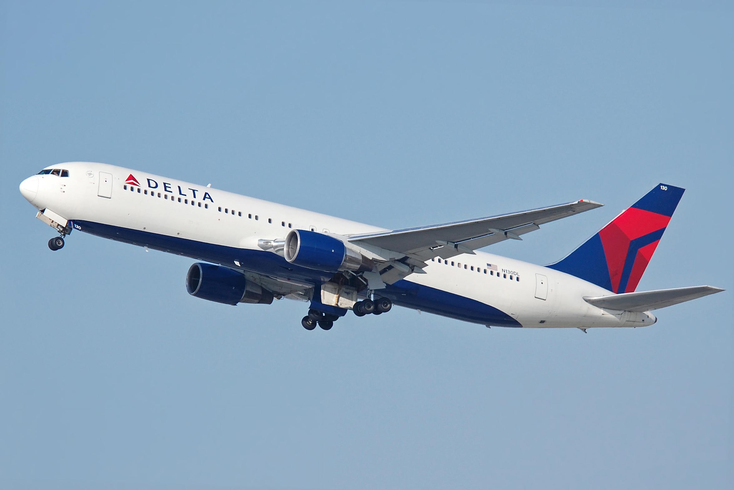 En Boeing 767-300 fra Delta Air Lines. Foto: Richard Snyder