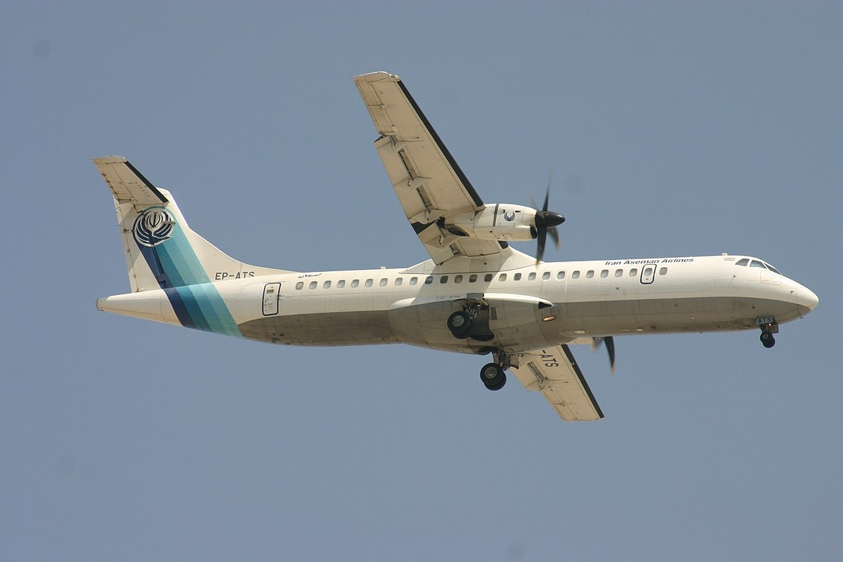 ATR 72-500 fra Iran Aseman Airlines – reg. EP-ATS. (Foto: Aeroprints.com | Creative Commons 3.0)