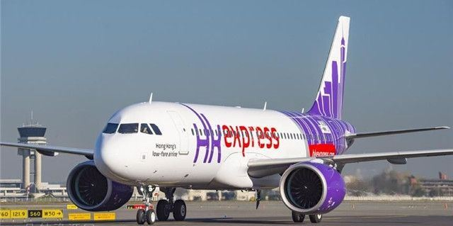 Airbus A320-200neo fra HK Express.