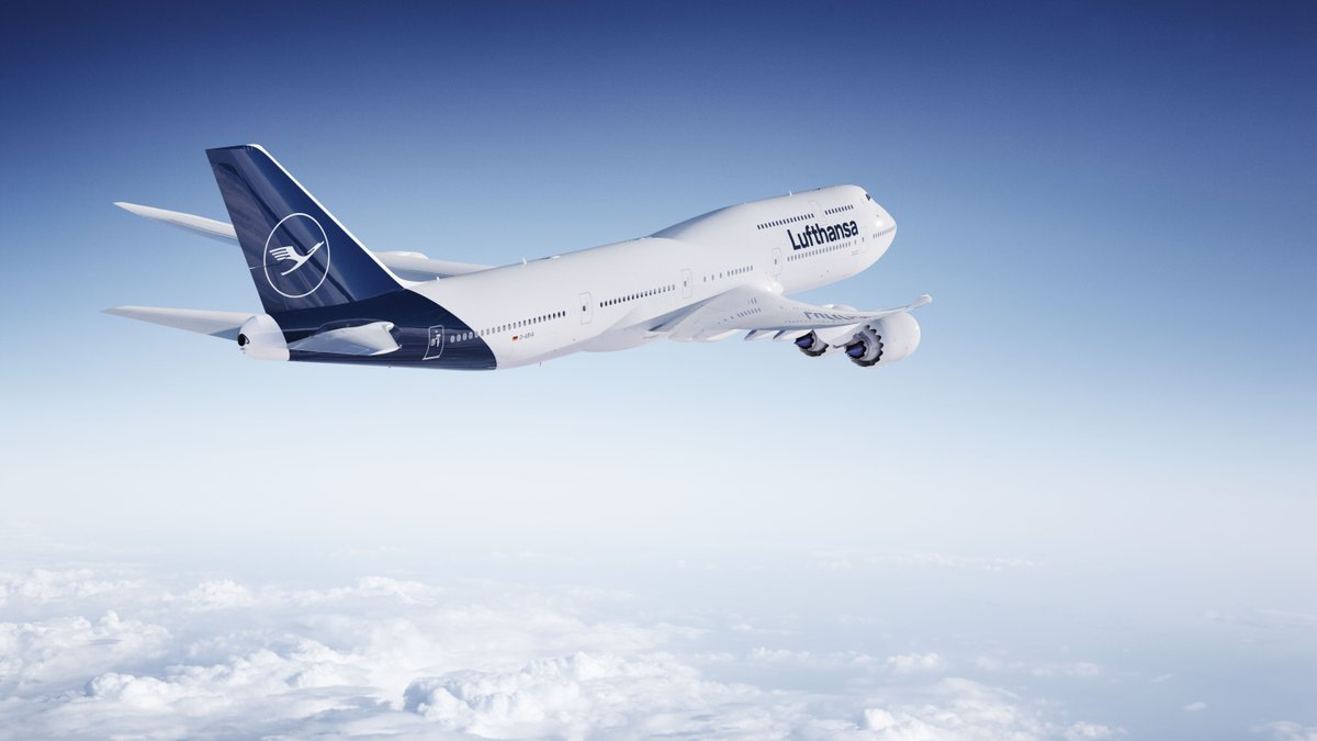 Lufthansa Boeing 747-8 i ny bemaling (Foto: Lufthansa)