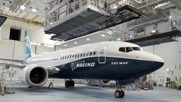 Boeing 737 MAX7 er ønsket af lavprisselskaber. Foto: Boeing.