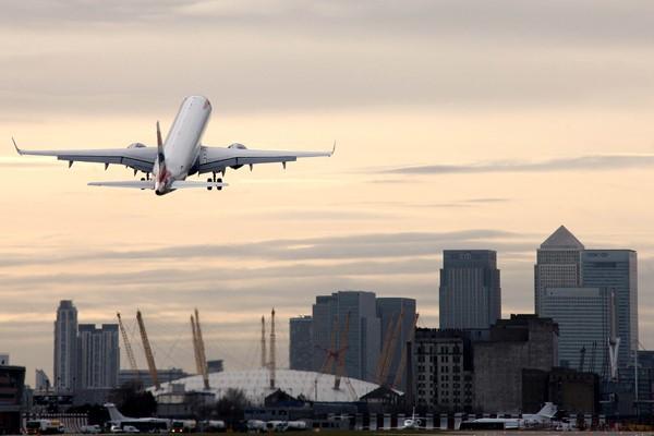 London City Airport. Arkivfoto.