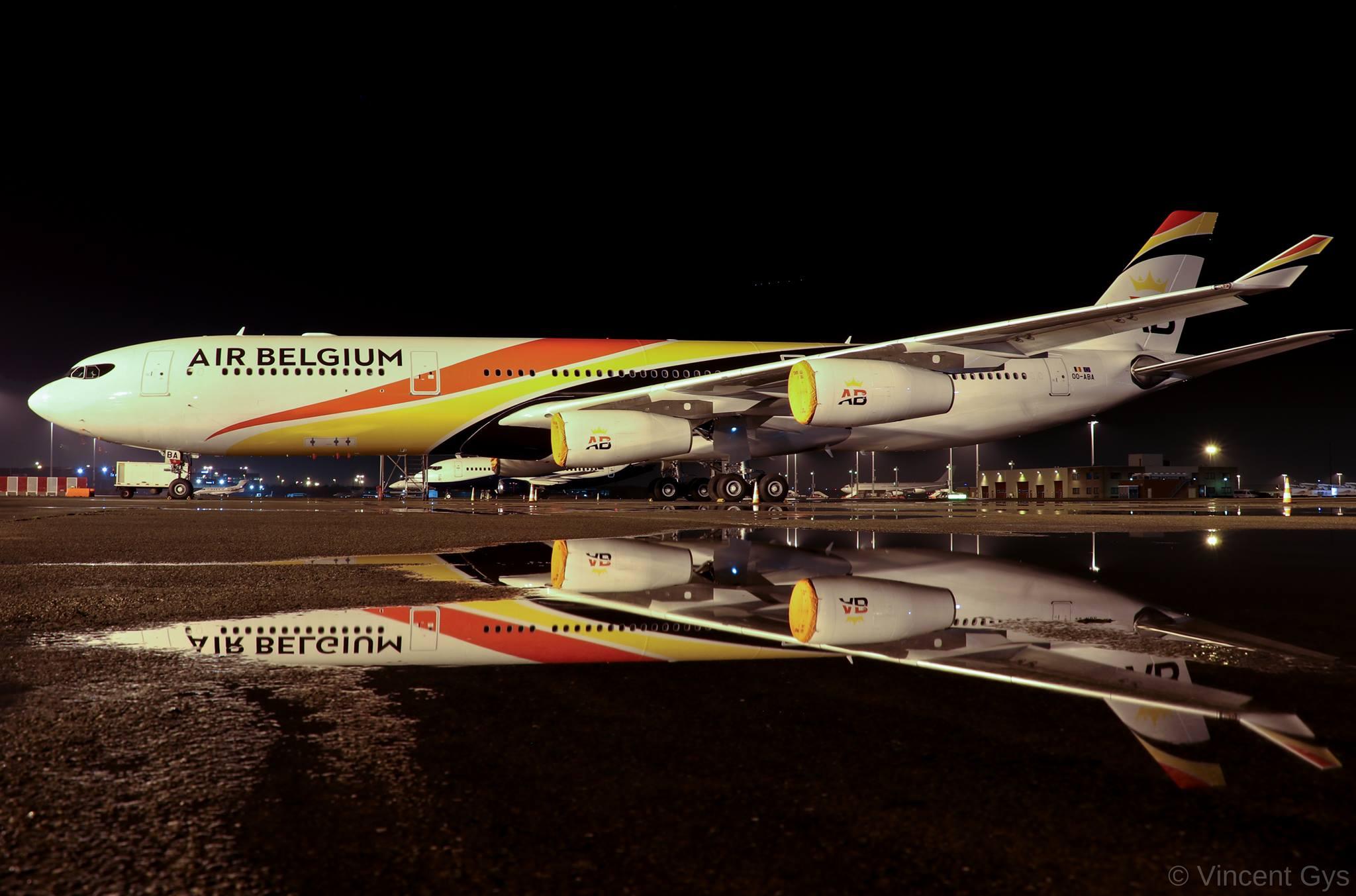 Air Belgium Airbus A340-300 – reg. OO-ABA. (Foto: Vincent Gys)