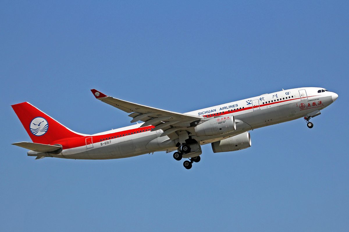 Sichuan Airlines Airbus A330-200 (Foto: Ken Fielding   Creative Commons 3.0)