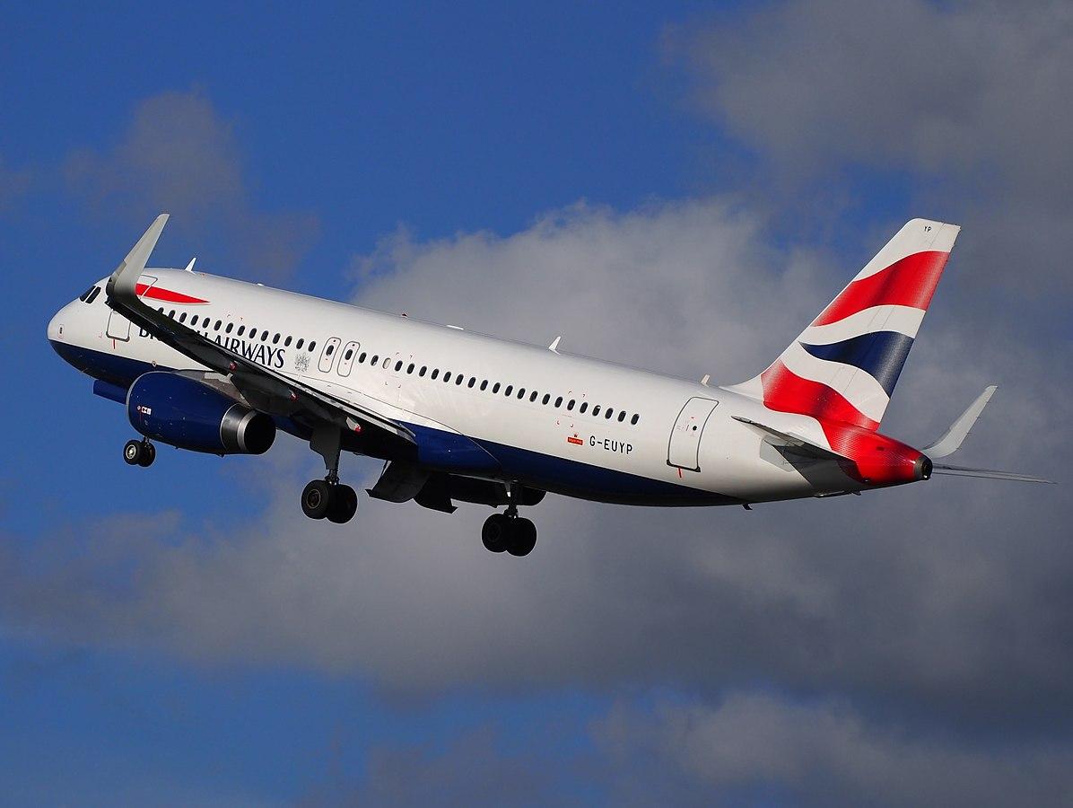 British Airways Airbus A320-200 (Foto: Alf van Beem   Creative Commons 1.0)