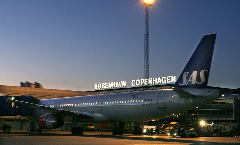 SAS-fly i Københavns Lufthavn (Foto: CPH)