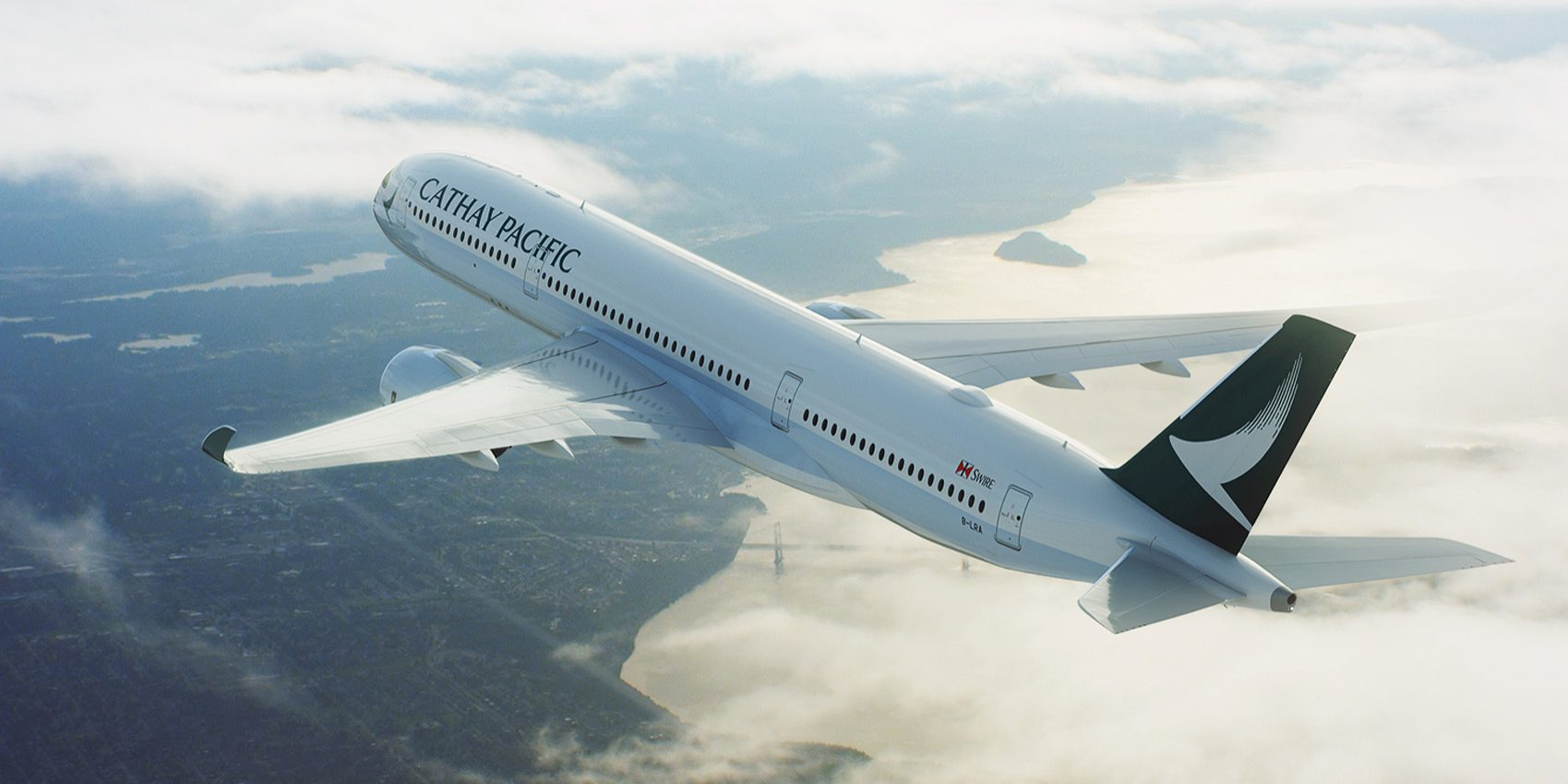 Airbus A350-900 XWB fra Cathay Pacific Airways (Foto: Cathay Pacific)