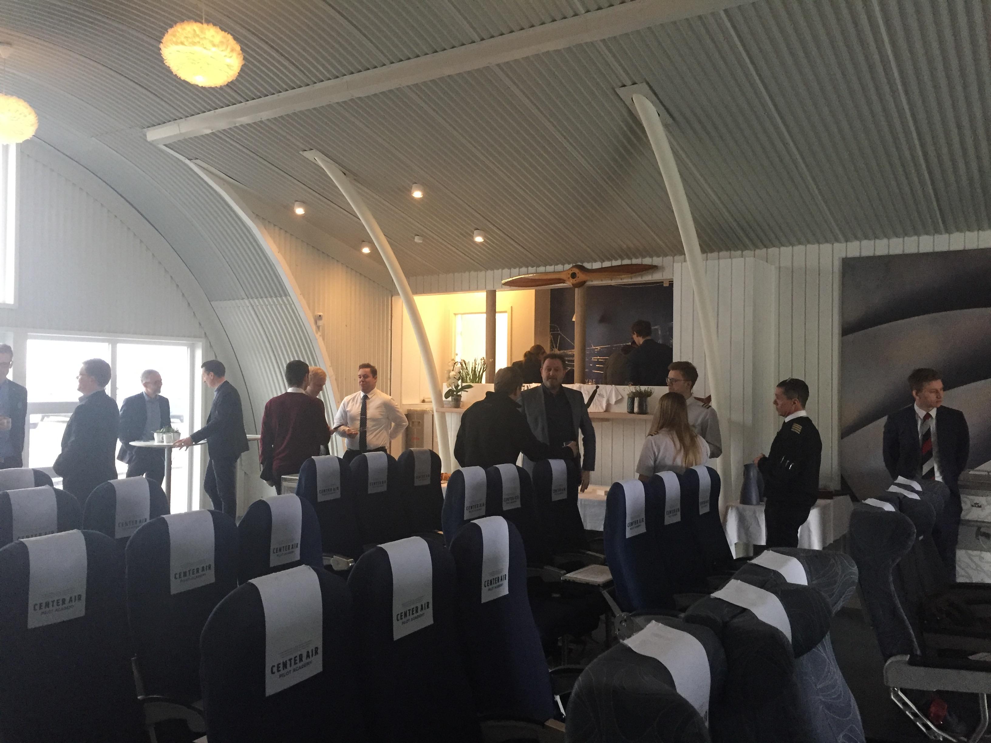 Onsdag blev der afholdt Danish Aviation Network Symposium hos Center Air Pilot Academy i Roskilde Lufthavn. Foto: Danny Longhi Andreasen