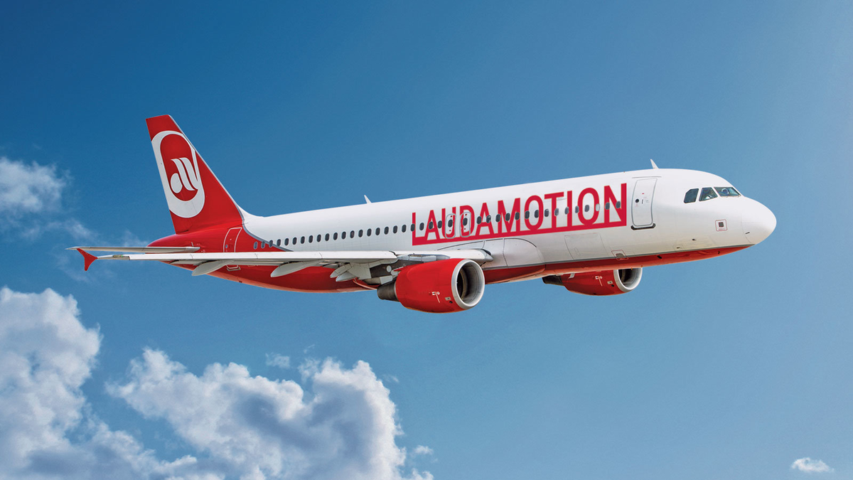 Laudamotion Airbus A320-200 (Foto: Laudamotion)