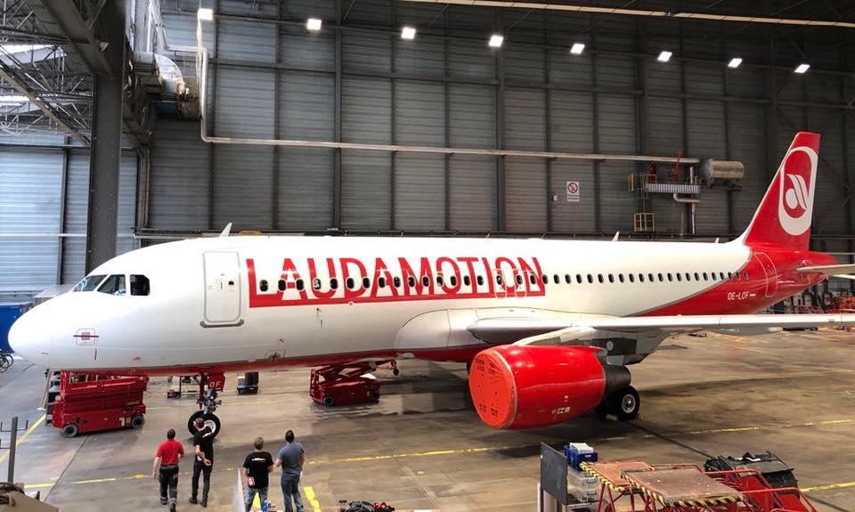 Laudamotion (Foto: Great Flyver Aviation)