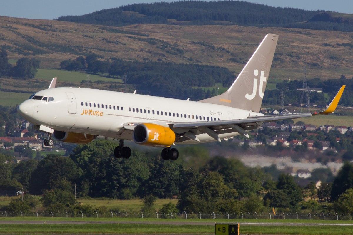 OY-JTY Boeing 737-700 fra Jet Time (Foto: Mark Harkin | Creative Commons 2.0)