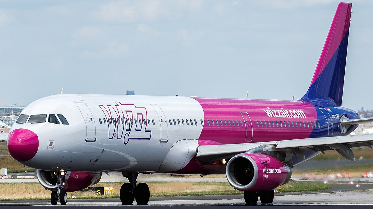 Airbus A321-200 fra Wizz Air (Foto: TJDarmstadt | Creative Commons 2.0)