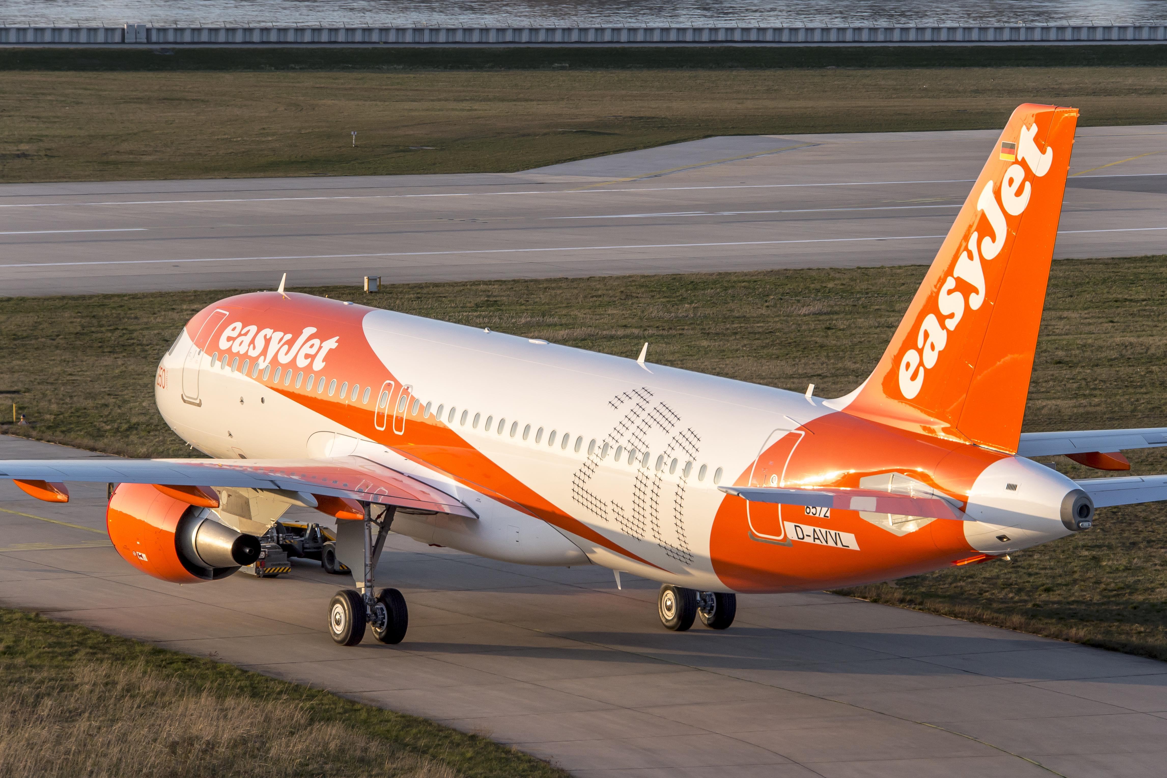 EasyJet Airbus A320-200. (Foto: EasyJet)