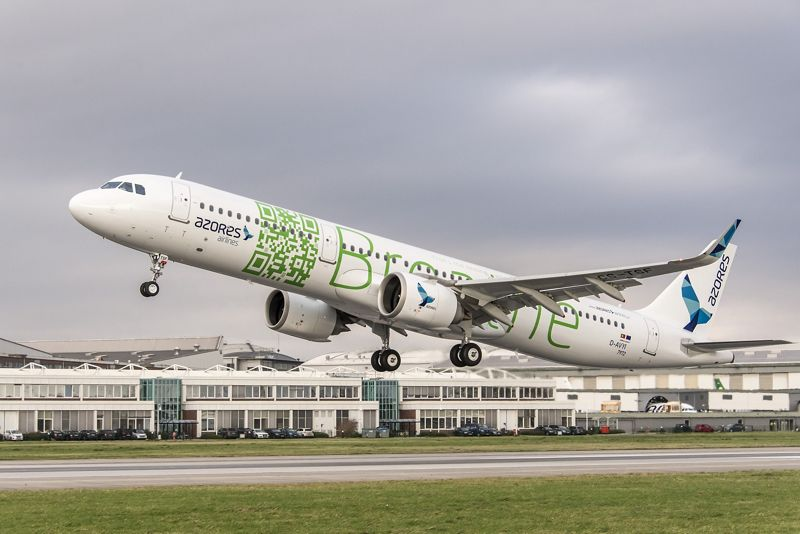 Azores Airlines første A321neo. Foto: Airbus