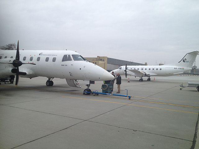 Embraer EMB-120. Foto: Dobos Barnabás