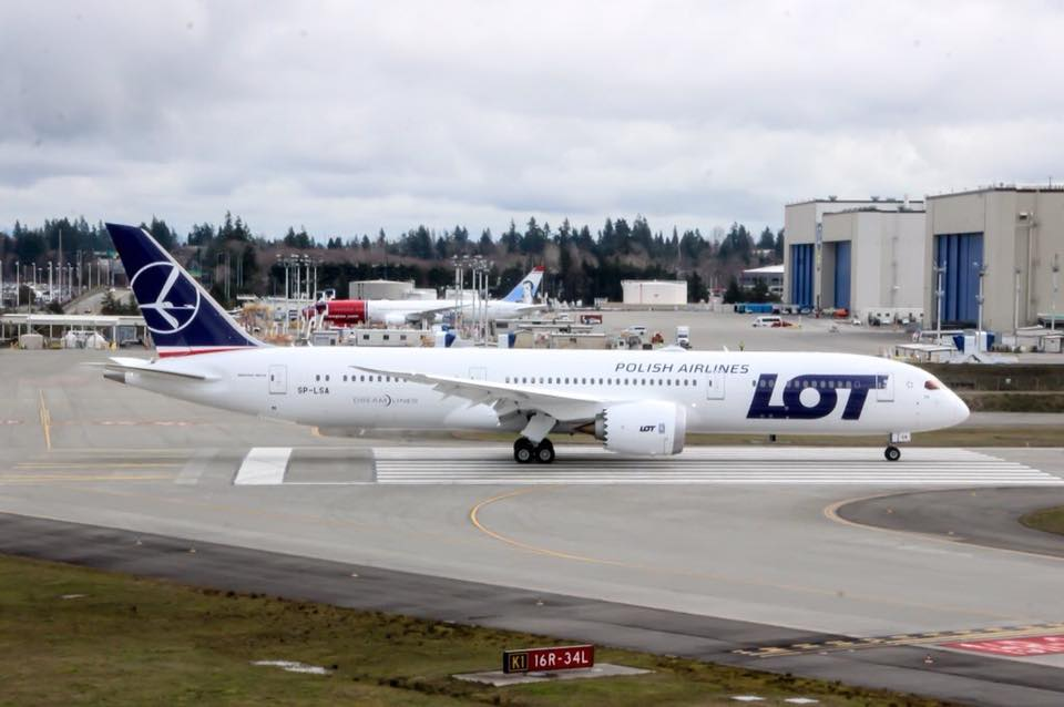 LOT Boeing 787-9 (Foto: Jennifer Schuld | LOT Facebook)