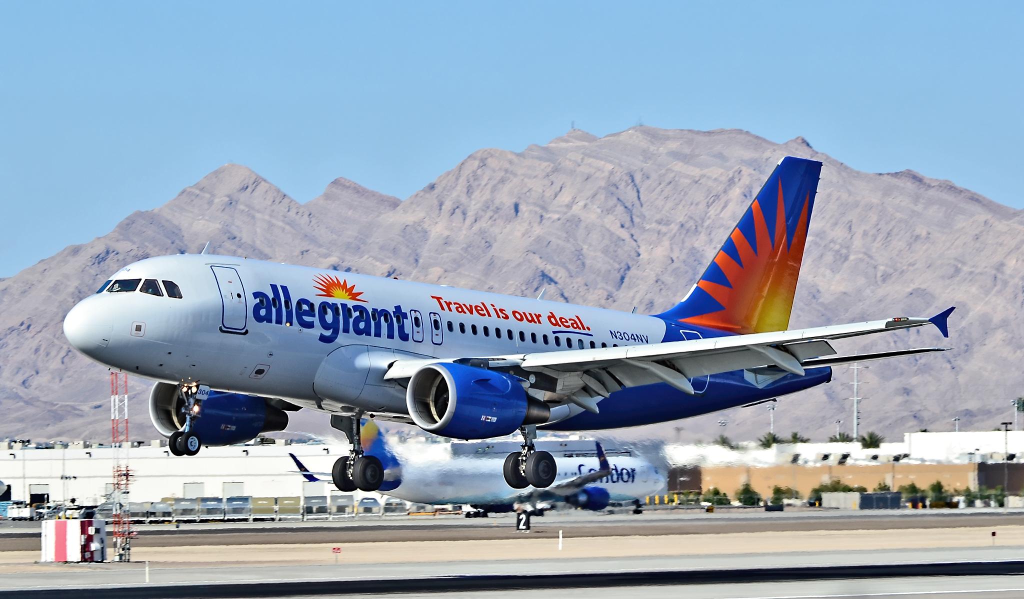Det amerikanske lavprisflyselskab Allegiant afviser, at det har problemer med sikkerheden. Foto: Tomás Del Coro