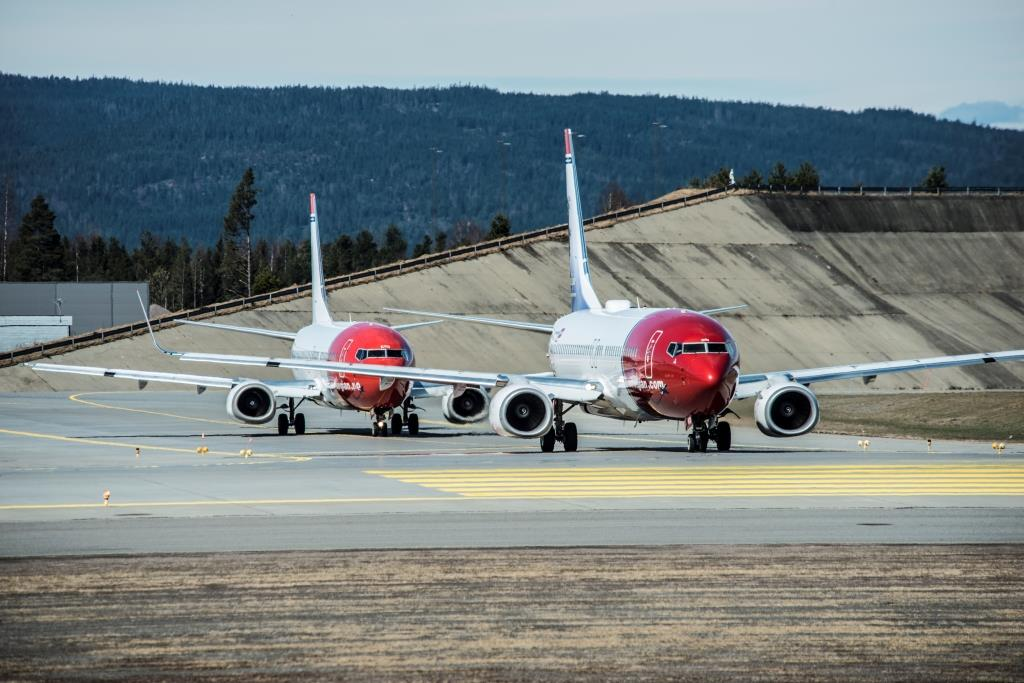 Norwegian-fly i Oslo Lufthavn (Foto: Hans Olav Nygård  | CC)