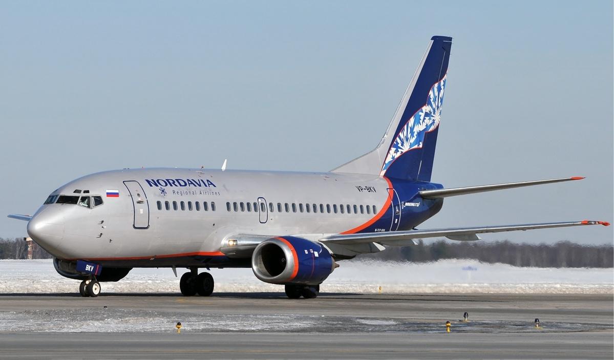 Nordavia Boeing 737-500. (Foto: Dmitry Petrov | CC 3.0)