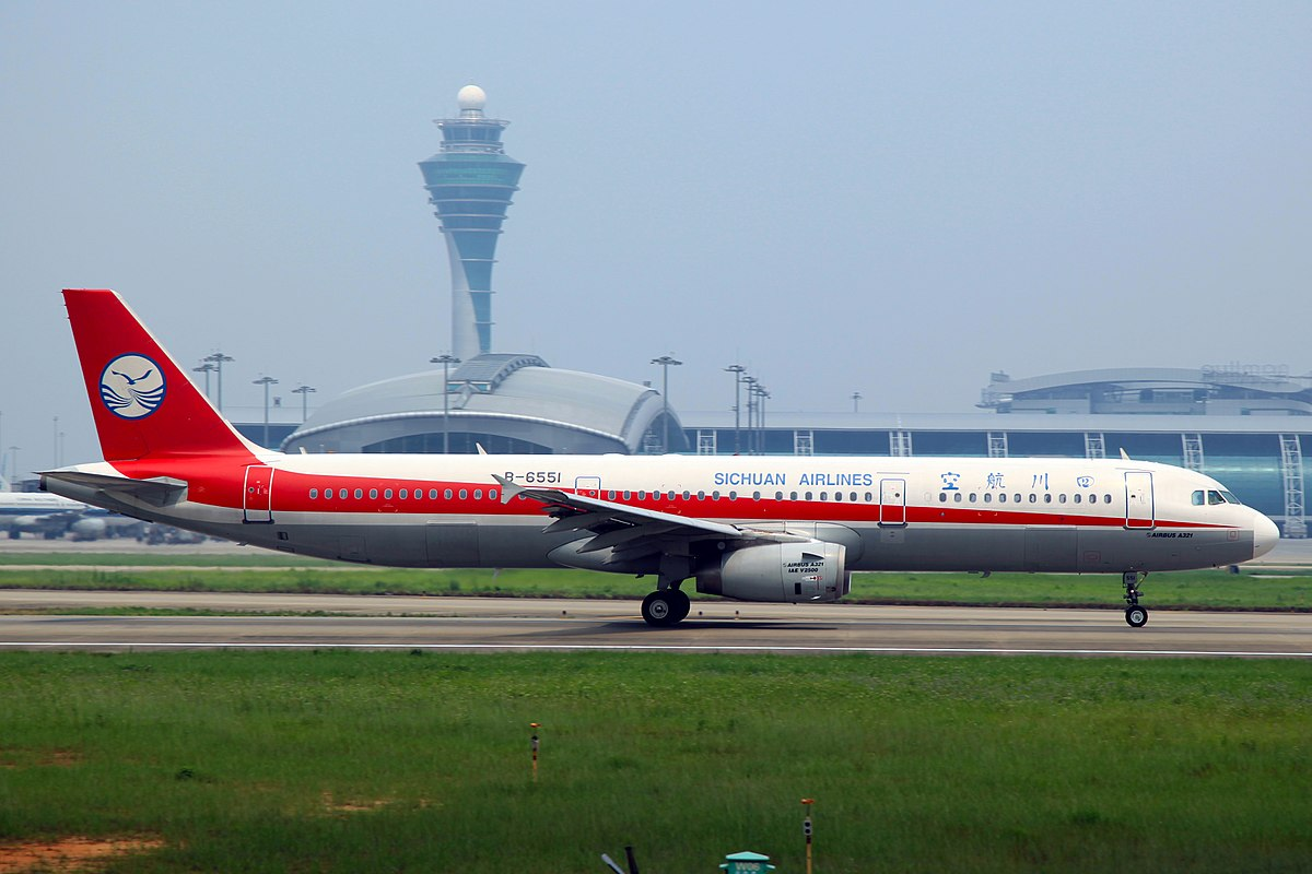 Airbus A321-200 fra Sichuan Airlines (Foto: byeangel | CC 2.0)