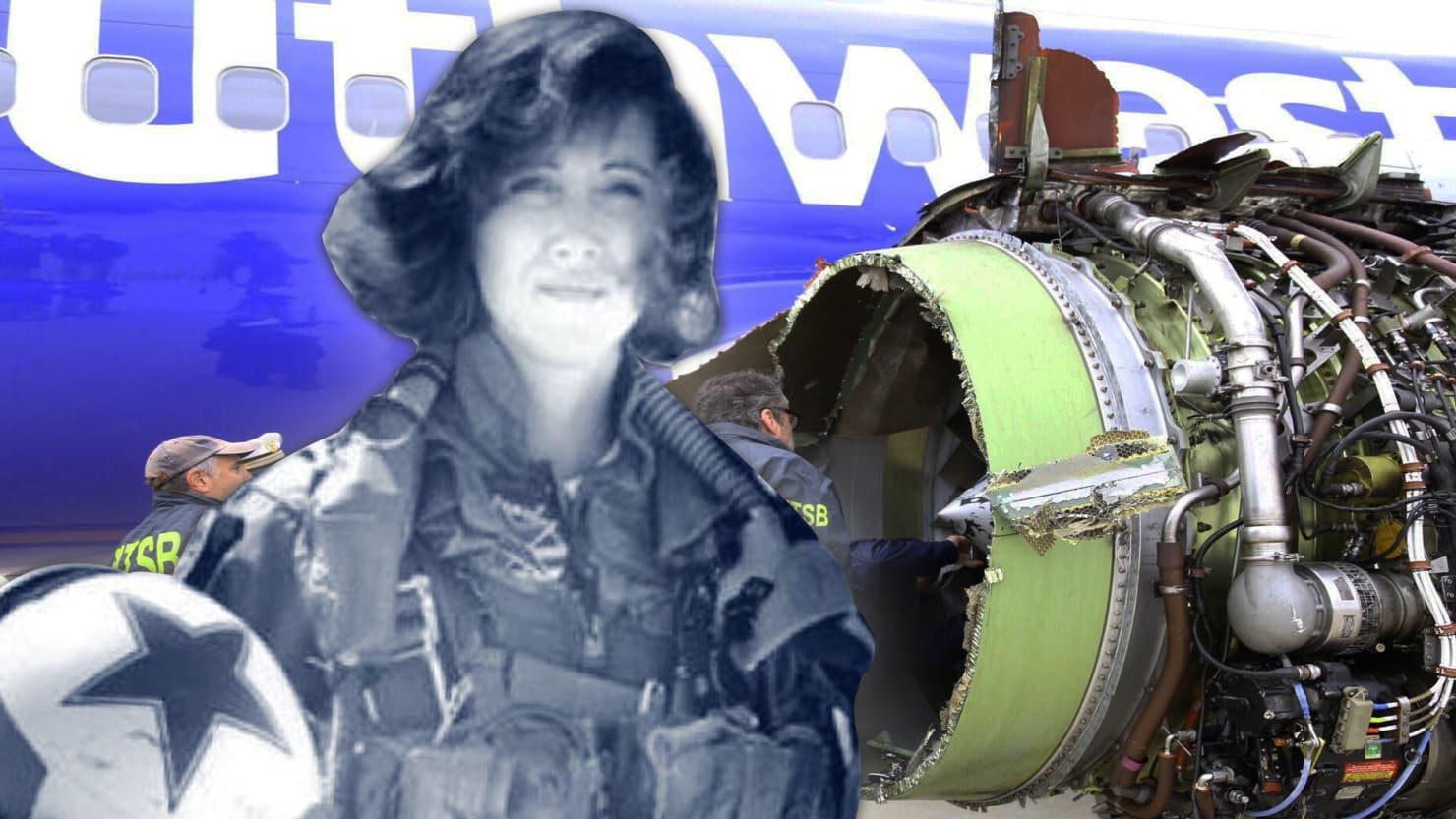 Tammie Jo Shults, der var kaptajn på tirsdagens Southwest-flyvning, har en fortid som jagerpilot i US Navy.