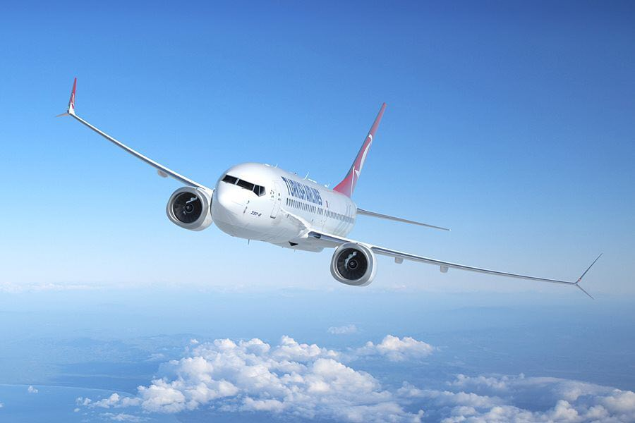 Turkish Airlines – Boeing 737 MAX 8 (Foto: Boeing)