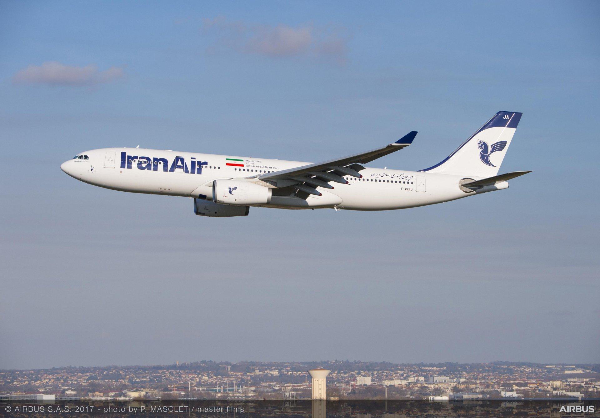 Airbus A330-200 fra Iran Air (Foto: P. Masclet | master films)