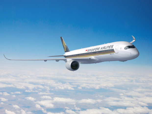 Singapore Airlines nye Airbus A350-900ULR.