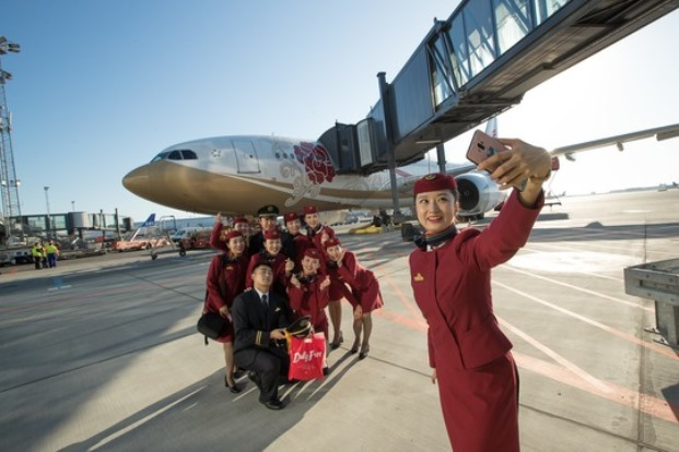 Air China er et af de nye selskaber i Københavns Lufthavn. (Foto: CPH)