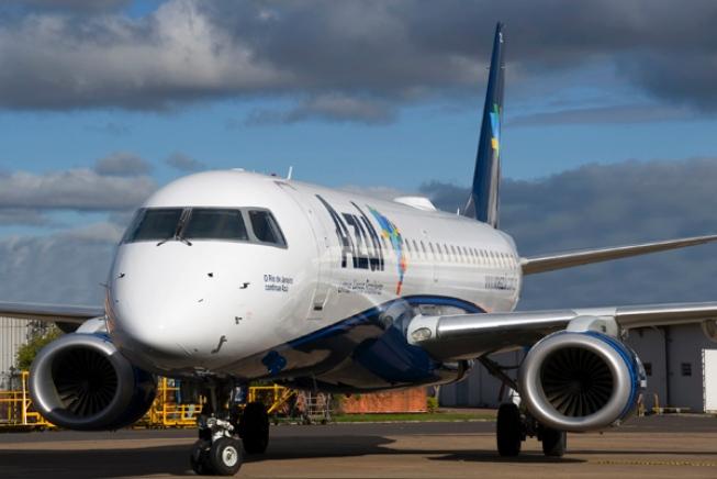 Embraer E195 fra brasilianske Azul.