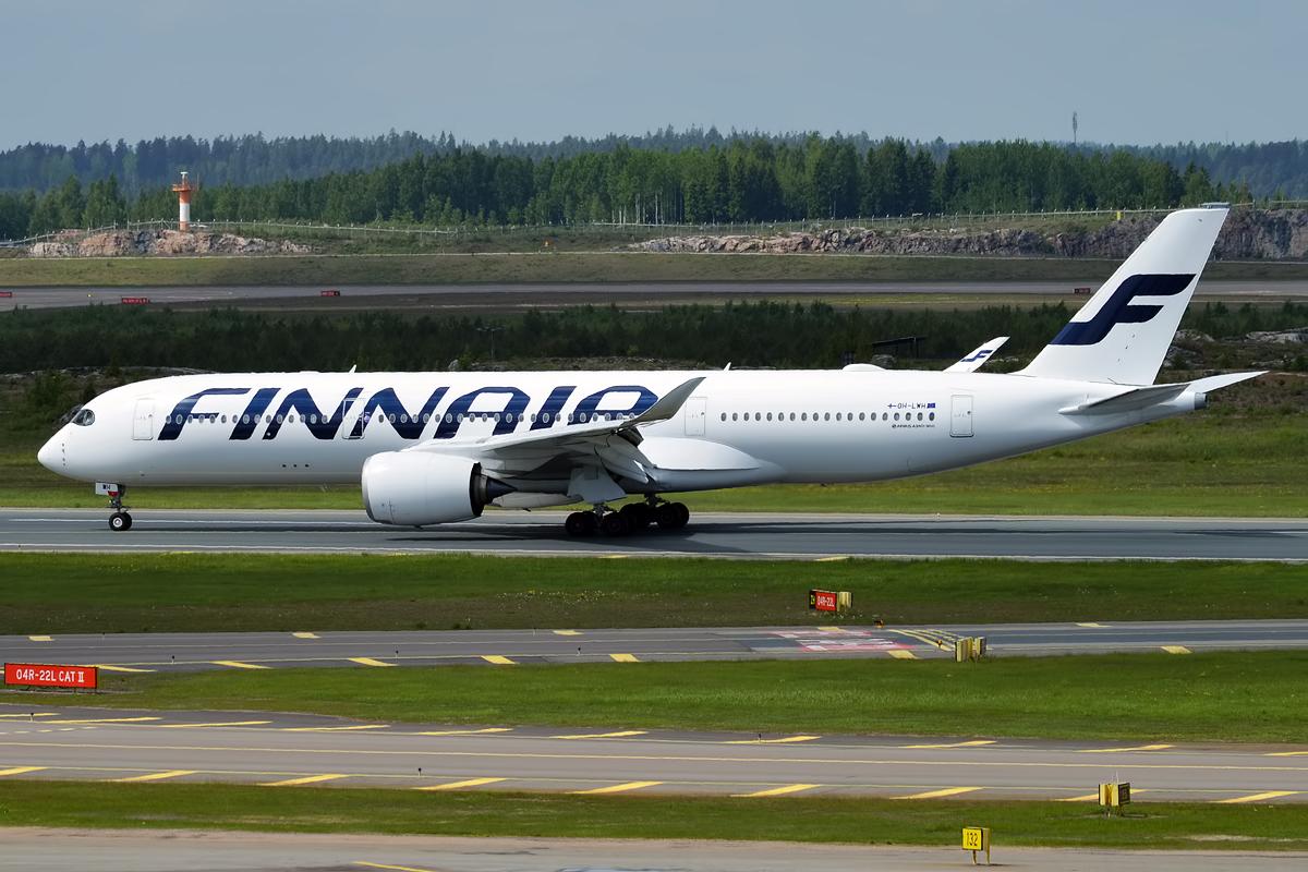 Finnair Airbus A350-900. (Foto: Anna Zvereva | CC2.0)