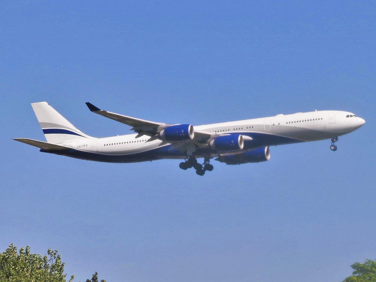 Airbus A340-500 fra Hi Fly (Foto: Adam Moreira (AEMoreira042281 | CC 4.0)