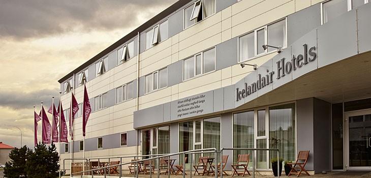Icelandair Hotel i Hérad. (Foto: Icelandair Hotels)