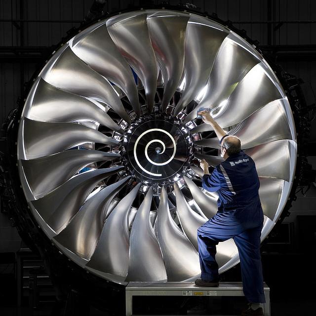 Rolls-Royce Trent 1000-motor.