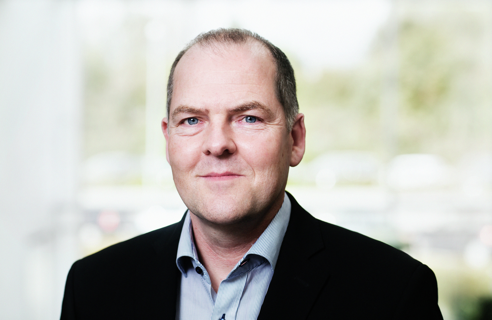 Ulrik Dan Weuder, vicedirektør i ATP og næsformand i Københavns Lufthavne A/S, (Foto: ATP)