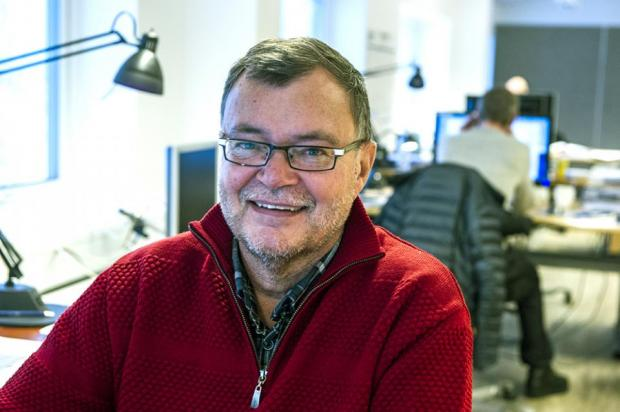 Søren Lennert Mortensen, bestyrelsesformand i Air Greenland. (Foto: Leiff Josefsen)
