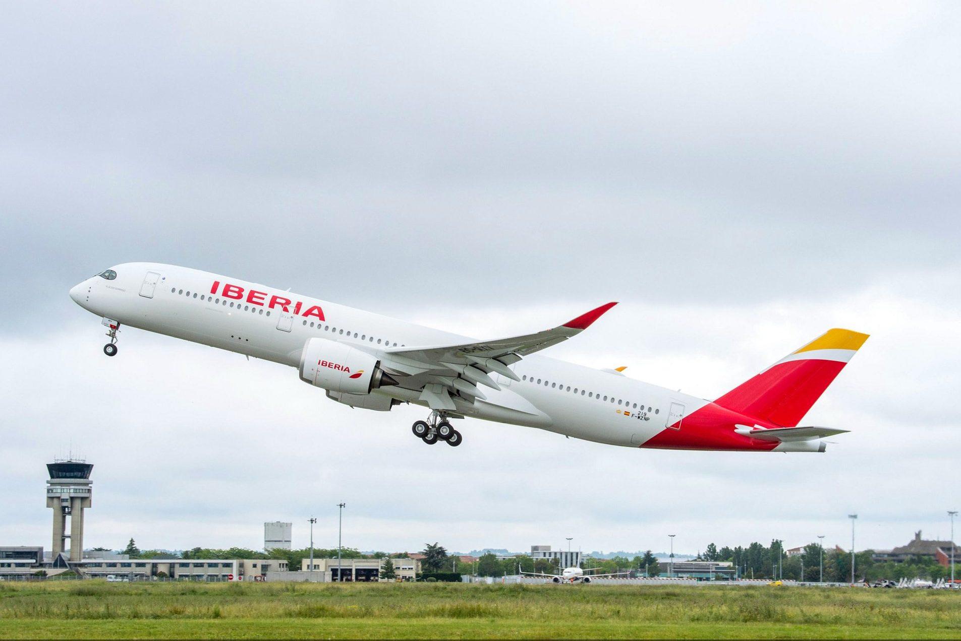 Iberias nye Airbus A350-900. Foto: Airbus