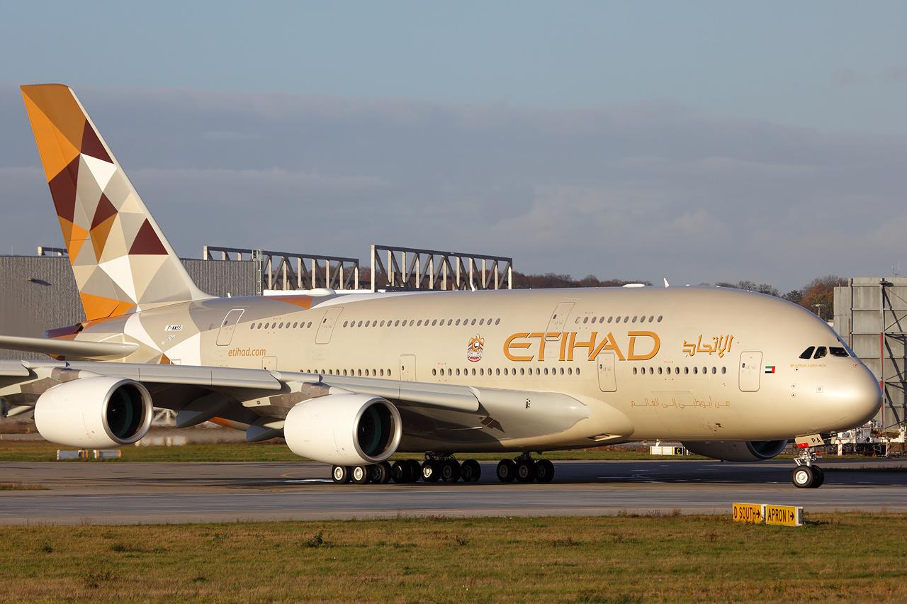 Etihad Airways tilbyder sine piloter til konkurrenten Emirates. Foto: Lars Hentschel