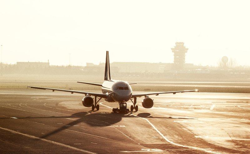 Fly i Københavns Lufthavn. (Foto: Ernst Tobisch)