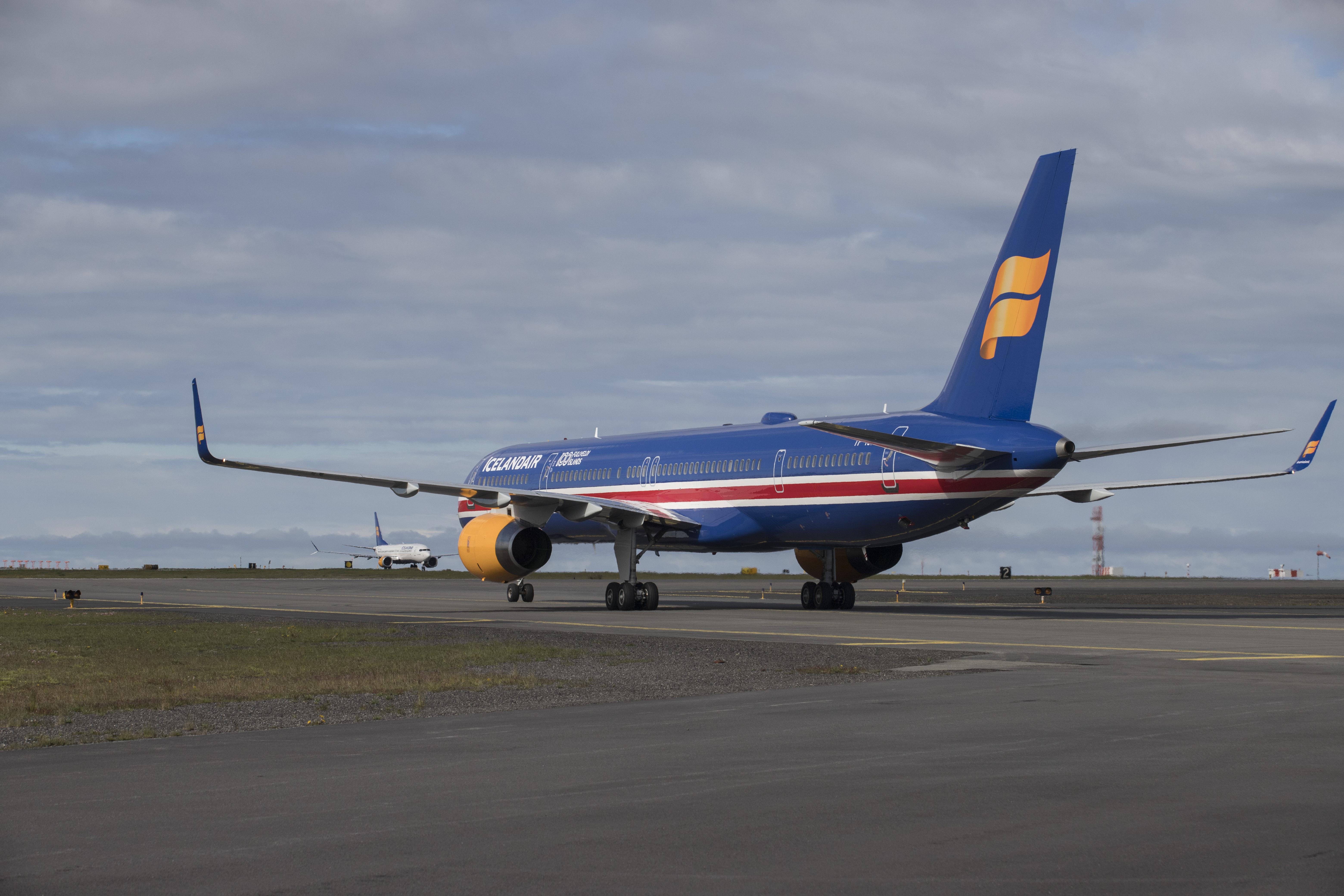 Boeing 757-300 – TF-ISX (Foto: Icelandair)
